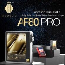 Hidizs AP80 PRO MP3 reproductor de música Bluetooth con pantalla táctil HiFi portátil FLAC tecnología LDAC USB DAC DSD 64/128 FM Radio DAP