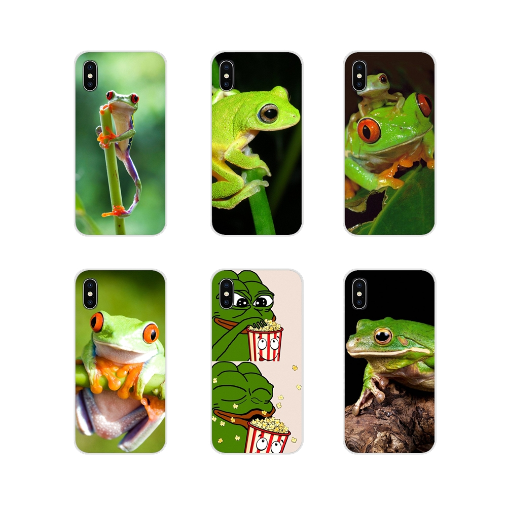 For Samsung Galaxy A3 A5 A7 A9 A8 Star A6 Plus 2018 2015 2016 2017 Accessories Phone Cases Covers Cute Frog Meme Animal funny image