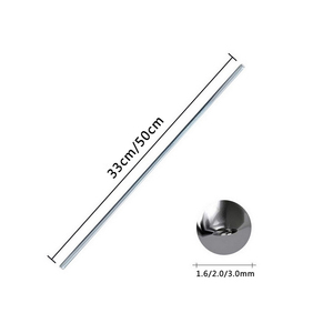 Алюминиевая Сварка, пайка, стержень низкой температуры, алюминиевый паяльный стержень, сварочный провод, флюс, стержни для припоя, не нужен порошковый припой