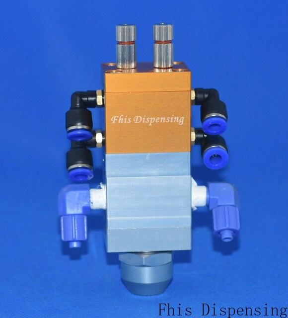 Distributeur automatique de réservoir de pression dacier inoxydable de distributeur automatique de Machine de Bicomponent dab 13 14 réglable