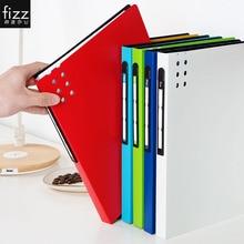 Fizz A4 File Folder Information Booklet Multi-layer Interleaved Picture Book Storage For File Test Paper Award B Super List chec