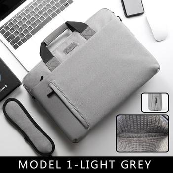Laptop Bag case 13.3 14 15.6 17.3 Inch Waterproof Notebook Bag for Macbook Air Pro 13 15 Computer Shoulder Handbag Briefcase Bag 14