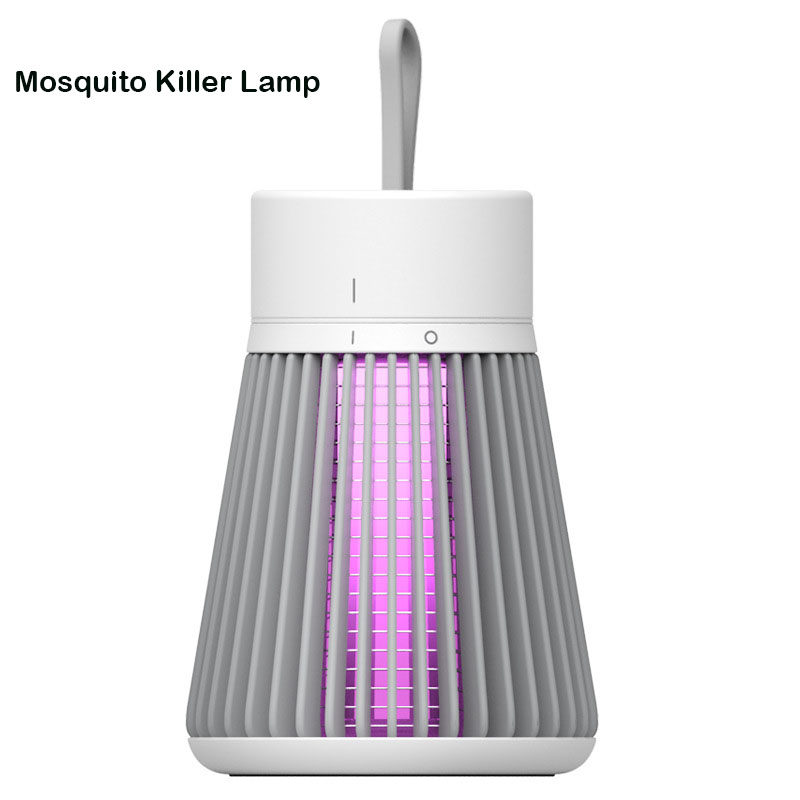 USB Electric Mosquito Killer Lamp LED Bug Zapper Insect Trap Anti Mosquito Mute Home Outdoor Camping Pest Control Repellent