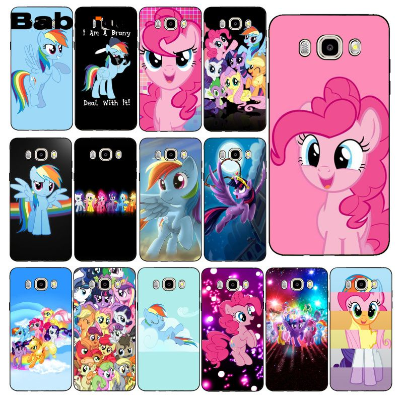Babaite Magic My Little Pony Phone Case For Samsung Galaxy J7 J6 J8 J4 J4Plus J7 DUO J7NEO J2 J5 Prime image