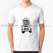 Franky Taxi Cooles Design Trendy T-Shirt T Frankenstein Horror Terror Monster Cab Lustige City Urban(China)