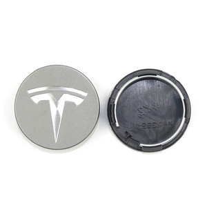 Image 5 - FOR TESLA MODEL X S 3 car styling XWC1385 01 Auto Accessories 56MM 58MM Badge Wheel Center cap cover emblem
