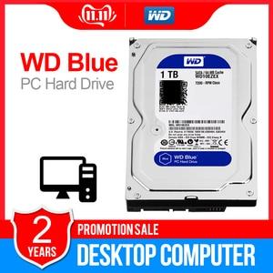 Image 1 - 1TB WD Blue 3.5 SATA3 Desktop hdd  6 GB/s HDD sata internal hard disk 64M 7200PPM hard drive desktop hdd for PC WD10EZEX