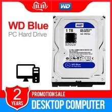 1TB WD Blue 3.5 SATA3 masaüstü hdd 6 GB/s HDD sata dahili sabit disk 64M 7200PPM sabit disk masaüstü hdd için WD10EZEX