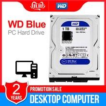 Жесткий диск WD Blue 3,5 SATA3 для настольного ПК, 1 ТБ, внутренний жесткий диск 6 дюймов, внутренний жесткий диск sata 64 м, 7200PPM, жесткий диск для настольного ПК WD10EZEX