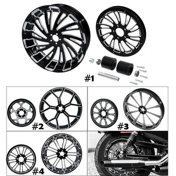 Motorcycle Rear Wheel Rim w/ Hub Set 1