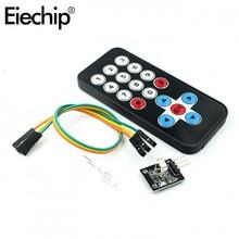 Eiechip 1set Für Arduino Infrarot IR Drahtlose Fernbedienung Modul Kits DIY Kit HX1838 Für Arduino Raspberry Pi Control bord