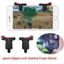 Handy Spiel Controller L1R1 Feuer Taste Ziel schalter controller Gamepad Empfindliche Schießen Löst mobile controller Für PUBG