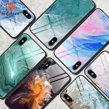 Уникальный чехол из закаленного стекла для iPhone 11 Pro XS Max XR X 6 S 6 S 8 7 Plus 6Plus 7 Plus 8Plus мобильный телефон, цветная задняя крышка Etui