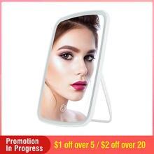 Зеркало для макияжа с регулируемой яркостью и сенсорным экраном