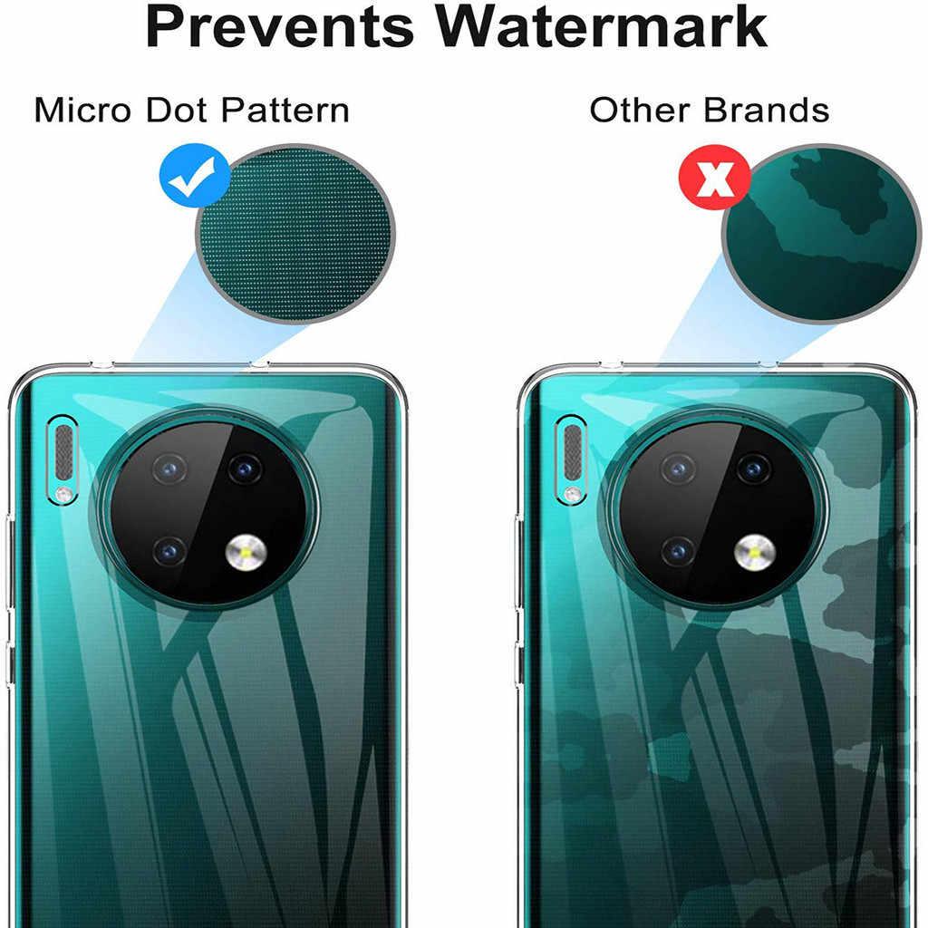 Cover Pelindung Soft Shell Ponsel Case Shock Penyerapan Bening TPU Bangunannya Yang Tahan Gempa Ponsel Case Penutup untuk HUAWEI Mate 30 6.53 Inch