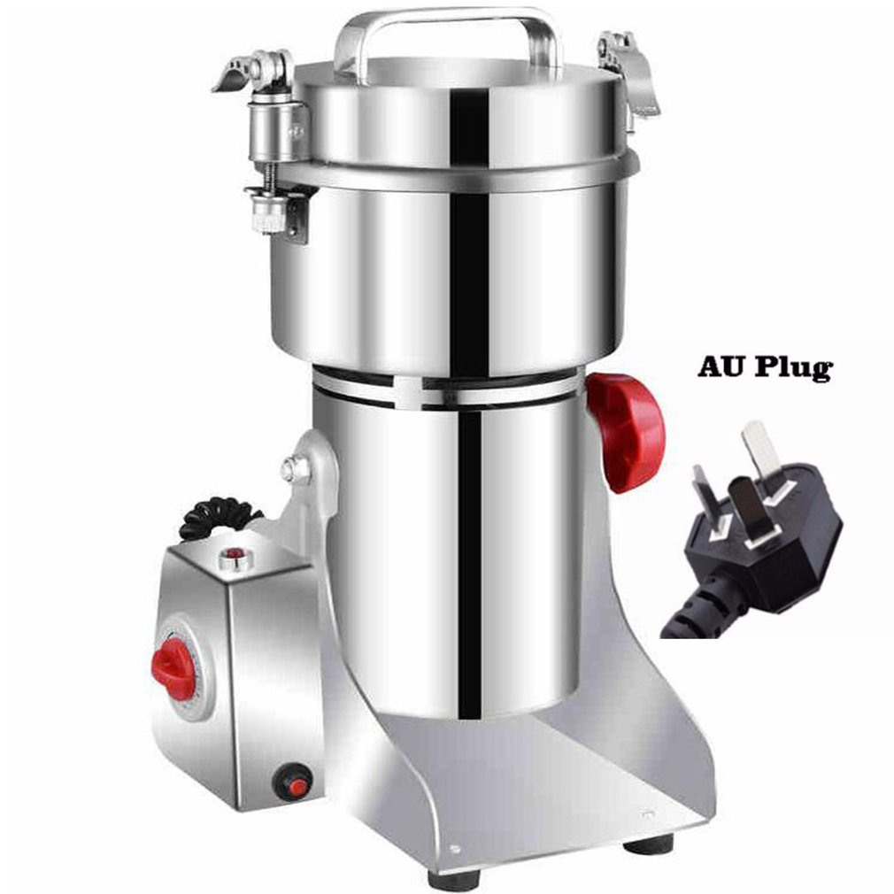 800A Grains Spices Hebals Cereals Coffee Dry Food Grinder Mill Grinding Machine Gristmill Home Medicine Flour Powder Crusher