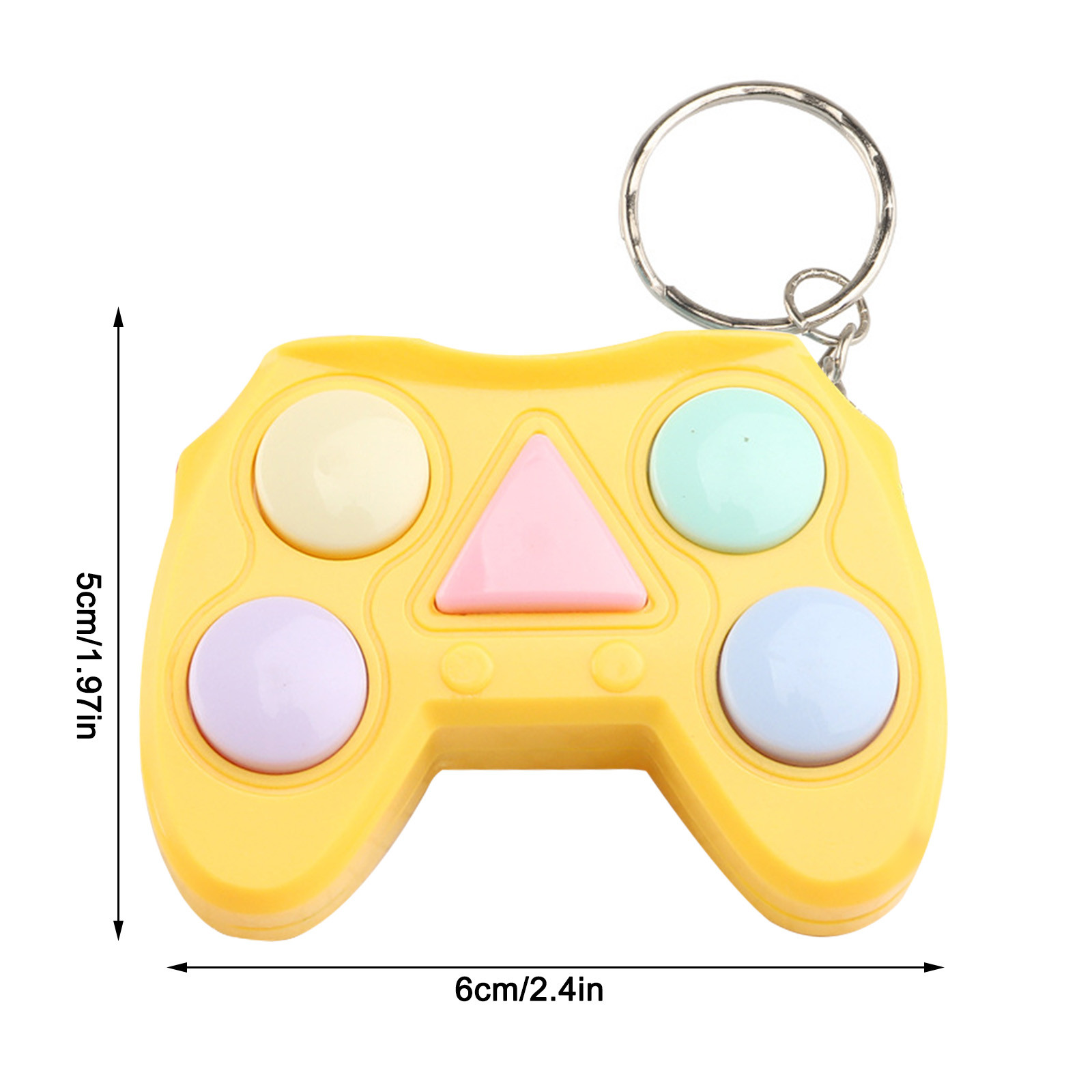 Figet Toy Keychain Memory-Stress Dimple Mini Handle Small Game Early-Educational Electronic img3