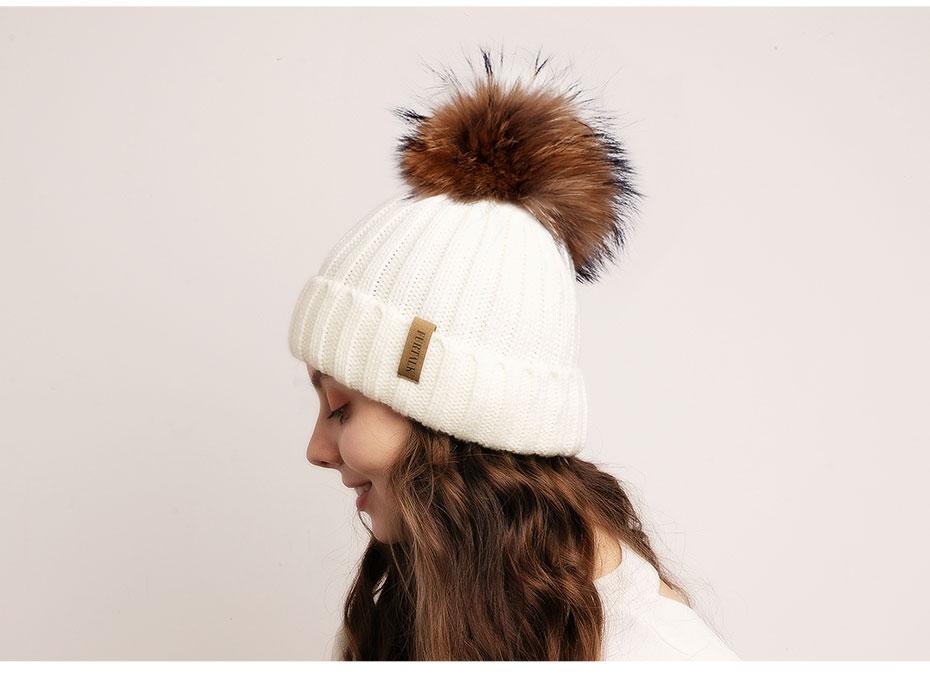 单层真球普通毛线帽930e_12