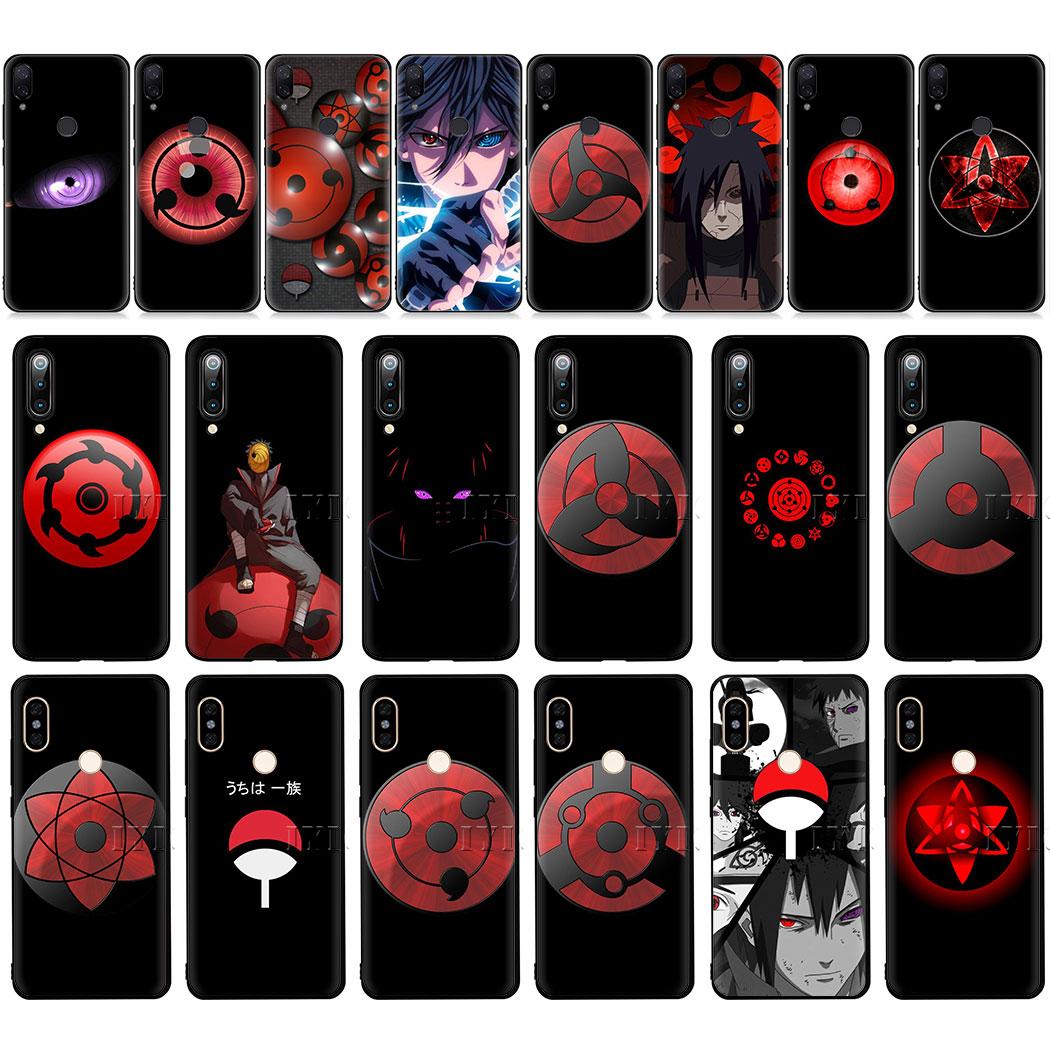 Mangekyou Sharingan Sasuke Soft Case For Xiaomi Mi Redmi Note 10 9t 7 8 Pro Cc9e Mix 2s Max 3 8t Half Wrapped Cases Aliexpress