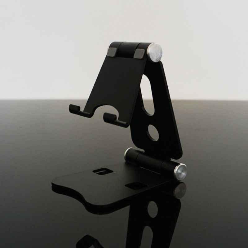 Stop Aluminium podwójny składany pulpit obrotowy stojak na Tablet uchwyt do telefonu komórkowego uchwyt do iphone'a na ipada na telefony komórkowe