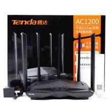 Tenda ac11 roteador ac1200 banda dupla 2.4 & 5 ghz gigabit banda dupla 12ac wi-fi roteador sem fio wifi repetidor 5 * 6dbi antenas de ganho alto