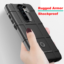 For Xiaomi Redmi Note 8 pro Case Rugged Armor Shockproof Cover For Redmi Note 8t Note 9s Note 9s pro MAX Note 5 6 7 8A K30 K20 cheap vicslin Fitted Case Stronger Protector Shockproof Anti-knock Heavy Duty Protection Black Army Green Gray Blue Brown