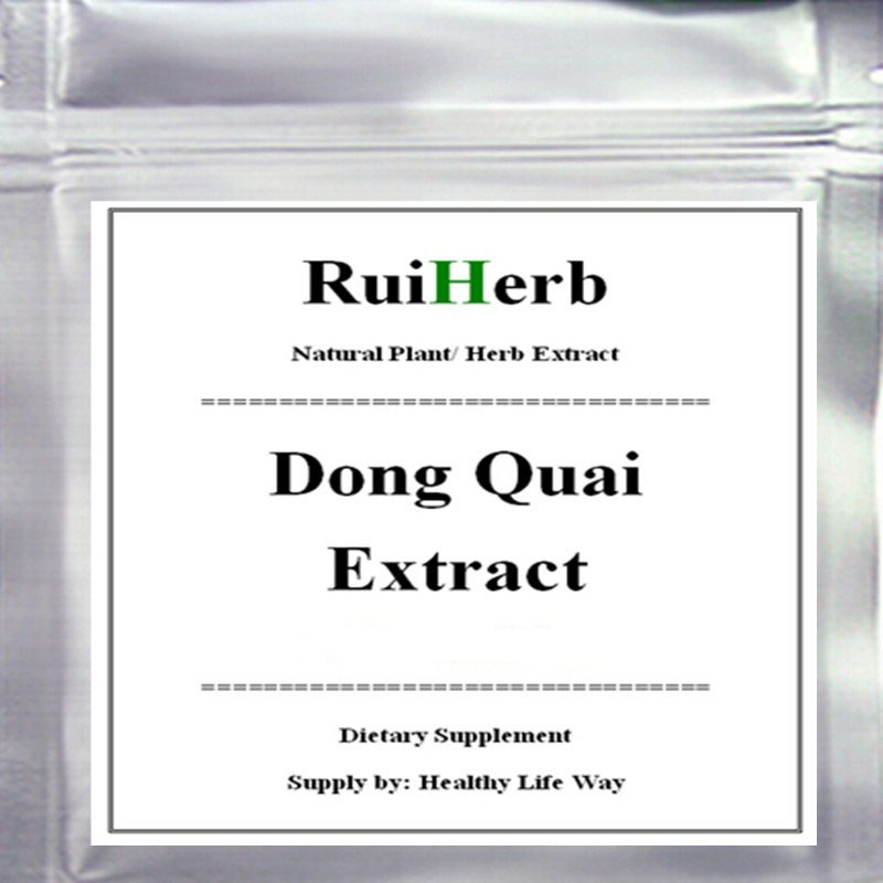Angelica Sinensis 20:1 Extract (Dong Quai) Powder 1% Ligustilide Ferulic Acid
