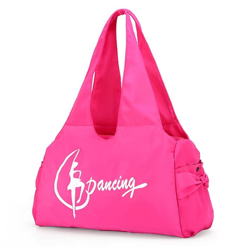 Adult Ballet Bags Gymnastic Sports Yoga Dance Bag For Woman Handbag Crossbody Cavans Large Capacity Bag Women Ballet Dance Bag