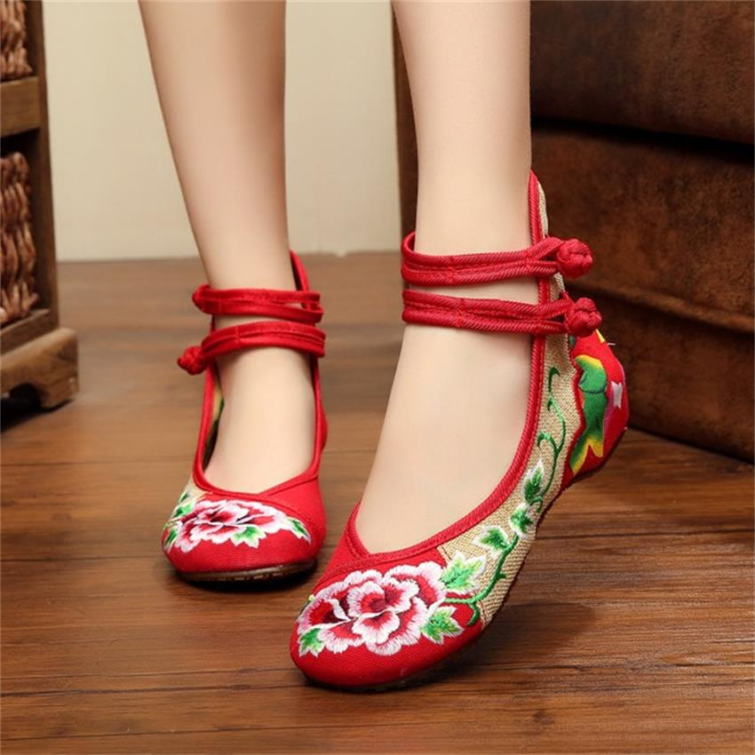Women Sport Latin Dance Shoes Female Ladies Girls Embroidered Dancing Shoes Jazz Dance Sneakers Zapatilla Mujer Sapatos Feminino