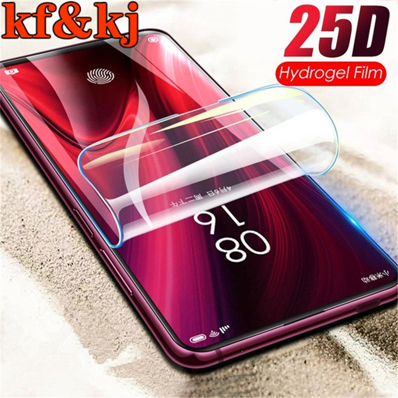 25D Curved Full Cover <font><b>Hydrogel</b></font> Film Soft Screen Protector Film for XIAOMI <font><b>Redmi</b></font> s2 pro note4 4x 5 5a 6 6pro 7 <font><b>8</b></font> 8pro 7s note9pro image