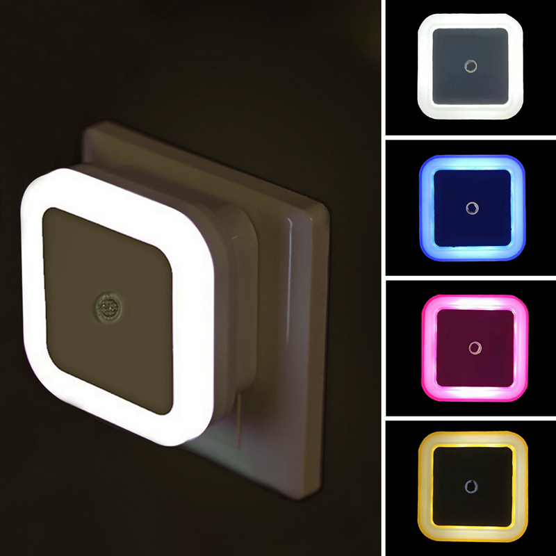 Светодиодный Ночной светильник движения Сенсор светильник ing мини вилка европейского и американского Ночной светильник для детей светильн...