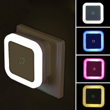 Lamp Lighting Motion-Sensor Led-Night-Light Us-Plug Bedroom Living-Room Mini Kids Children