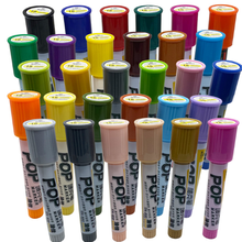 Oily 30 color 18mm poster painting color marker Mark pen advertising scribble anime pen