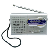 Portable Radio Multi-Functional Speaker Mini Pocket AM/FM Dual Band Receiver with Telescopic Antenna Digital Radio Receiver(China)