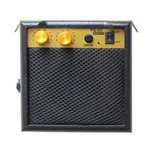 Портативный Электрический гитарный динамик мини 5 Вт усилитель с громким динамиком