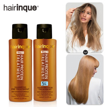 5% Brazilian Keratin with Shampoo for Hair Treatment Professional Hair Straightener Clarifying Shampoo Smooth Hair Products