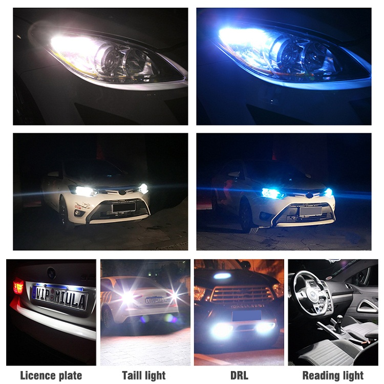 H6c559efbadaf4c8dad2b08b94547f676L OKEEN Car T10 Led Canbus 6000K White T10 w5w Led Bulbs DRL Turn Parking Width Interior Dome Light Reading Lamp 12V Car Styling