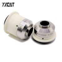 Focusable 0.35X 0.55X Microscope Camera Adapter C mount Adapter for Nikon Trinocular Microscope