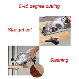 Image 3 - Mini chainsaw wx429 updated from wx423 circular lumbering electric saw angle grinder hand held carpenter cutting guide cutter