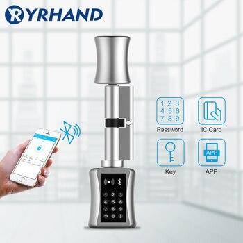 Cerradura TT apSmart cerradura DIY sin llave doble cilindro de repuesto cerradura TT app WiFi euro cilindro cerraduras inteligentes