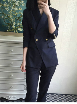 Formal Uniform Business Pant Suits Jacket and Pant Blazer suit Set Women Office Lady 2 Two Pieces Suits Uniform JK350 uniform business pant suits formal jacket and pant blazer set women office lady 2 two pieces suits uniform ka1089