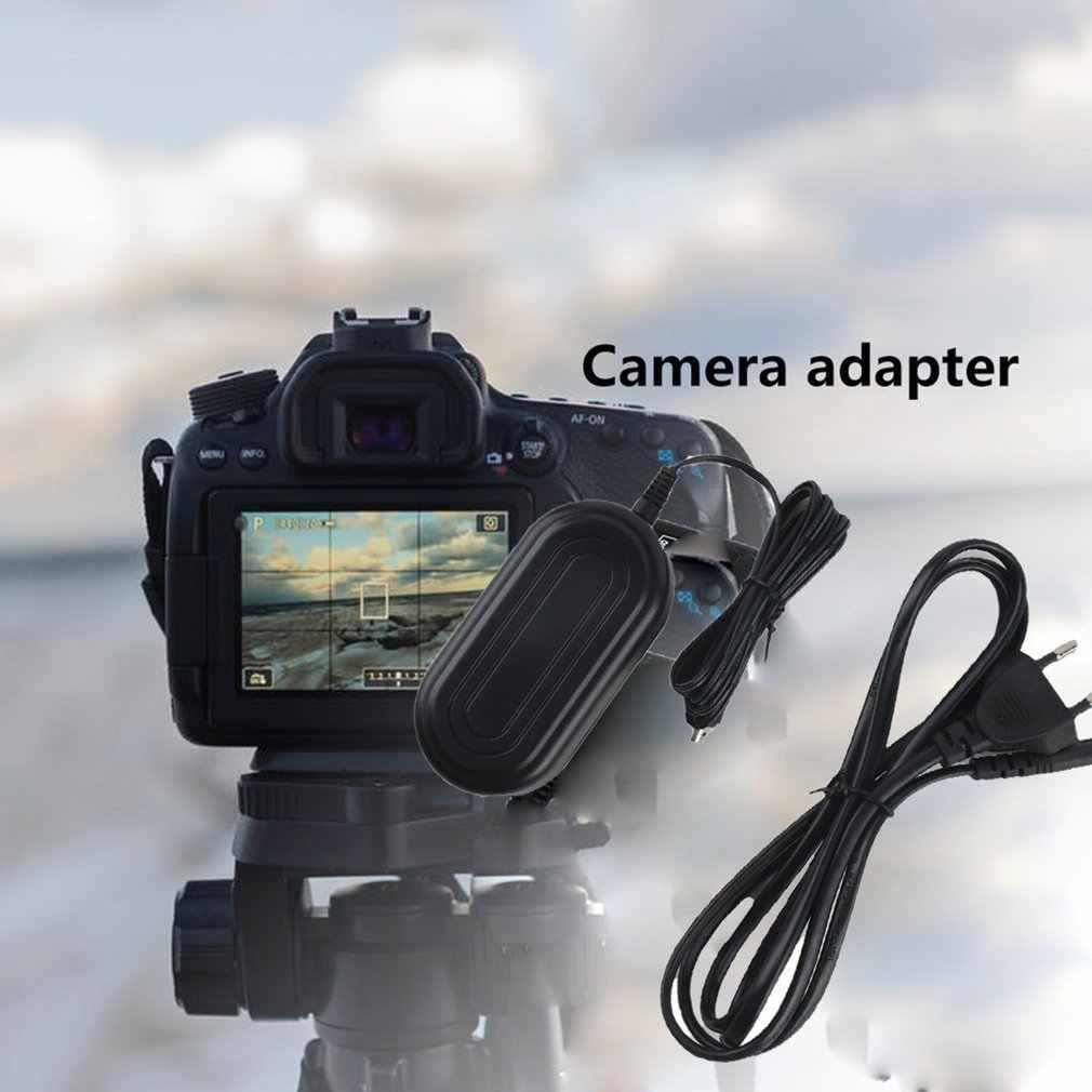 ประสิทธิภาพสูงแหล่งจ่ายไฟอะแดปเตอร์สายไฟชุดสายสีดำทนทาน CA-590 สำหรับ Canon HF R18 R17 R106 R16 Porter สาย