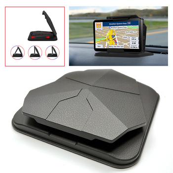цена на Cell Phone Holder for Car Dashboard - Car Anti-Slip GPS Mount Cradle Dock Mounting in Pickup Truck, Compatible Phone X 8 7 Plus