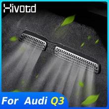Hivotd Für Audi Q3 2020 2019 Zubehör Auto Sitz Boden Klimaanlage Outlet Kanal Vent Schutz Abdeckung Aufkleber Innen Teile