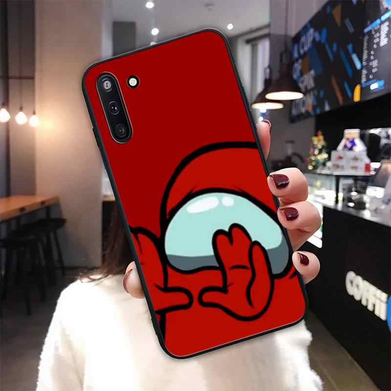 Coque de téléphone portable, étui de jeu parmi nous pour garçon, Samsung Galaxy J2 J3 J4 Plus J5 Prime J7 2016 J6 Note 5 8 9 10