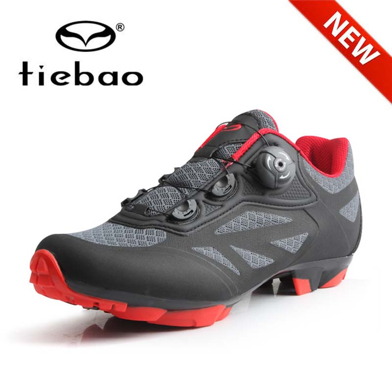 NewTIEBAO Men Cycling Shoes Breathable Self-Locking Mtb Shoes Mountain Bike Shoes Bicycle RacingTriathlon Sapatilha Ciclismo Mtb
