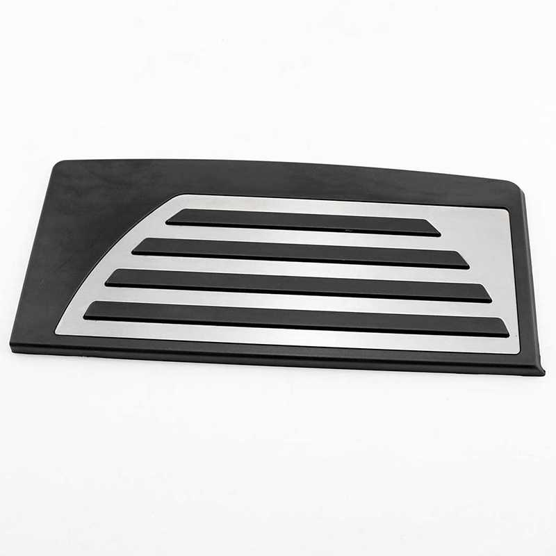 Color Name : Black and silver WENJING Car Pedal Car Styling Footboard,Foot Rest Pedal Cover,Fit For ALFA Romeo Giulia Stelvio