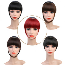 LiangMo Short bangs braided blunt natural wig heat resistant synthetic woman hair available natural fake hair