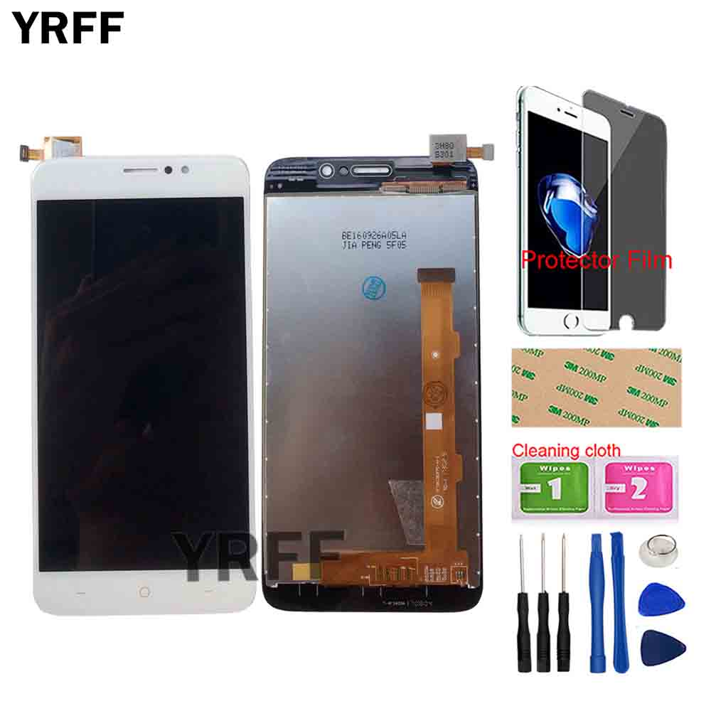 LCD Display For TP-LINK Neffos C7 TP910A TP910C LCD Display Screen Touch Panel Digitizer Panel Lens Sensor Assembly Tools Gift