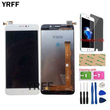 LCD Display For TP LINK Neffos C7 TP910A TP910C LCD Display Screen Touch Panel Digitizer Panel Lens Sensor Assembly Tools Gift